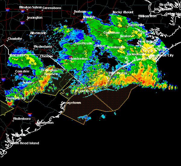 Radar Image for Severe Thunderstorms near Wrightsboro, NC at 7/9/2016 12:53 AM EDT