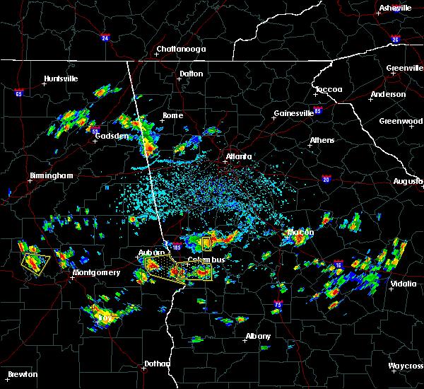 Radar Image for Severe Thunderstorms near Salem, GA at 7/9/2016 2:43 PM EDT
