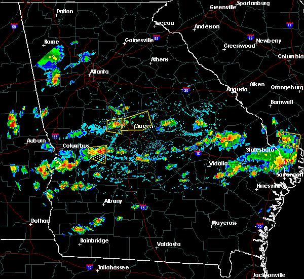 Radar Image for Severe Thunderstorms near Gray, GA at 7/9/2016 3:38 PM EDT