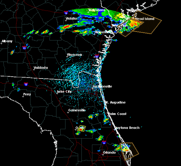 Radar Image for Severe Thunderstorms near Ocala, FL at 7/9/2016 4:51 PM EDT