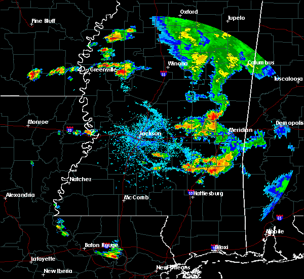 Radar Image for Severe Thunderstorms near Decatur, MS at 7/9/2016 5:14 PM CDT