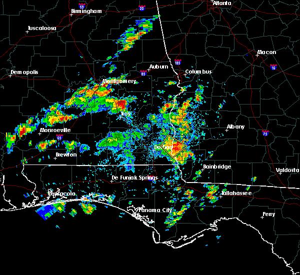 Radar Image for Severe Thunderstorms near Arlington, GA at 7/11/2016 3:01 PM EDT