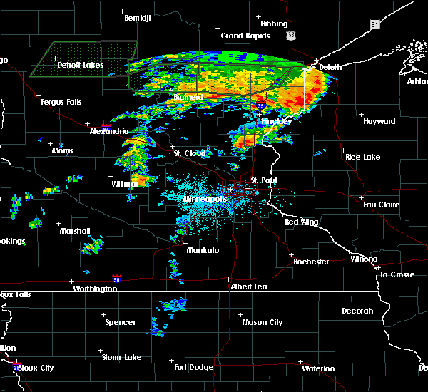 Radar Image for Severe Thunderstorms near North Branch, MN at 7/11/2016 5:06 PM CDT