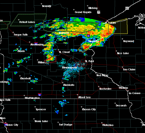 Radar Image for Severe Thunderstorms near North Branch, MN at 7/11/2016 5:25 PM CDT