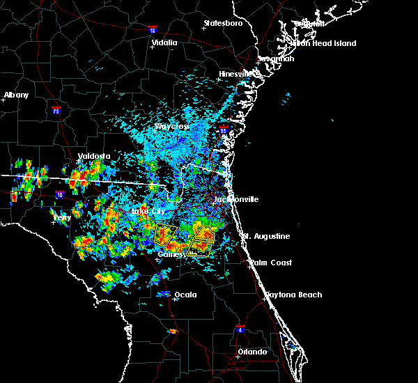 Radar Image for Severe Thunderstorms near Penney Farms, FL at 7/12/2016 5:00 PM EDT