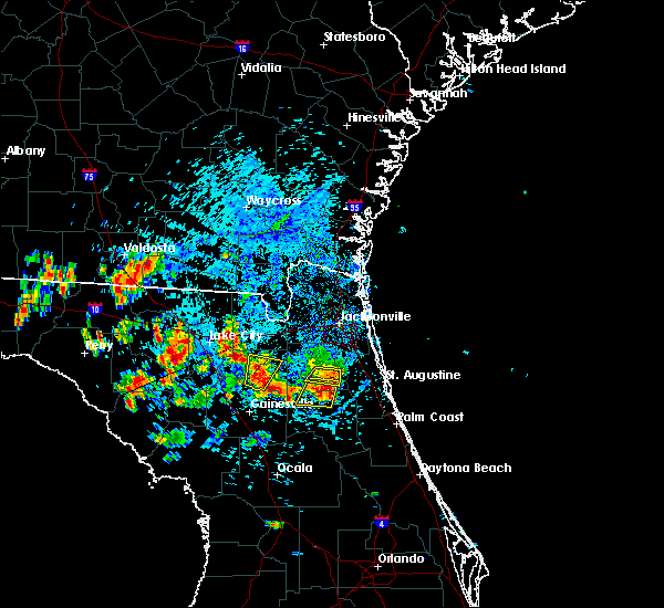 Radar Image for Severe Thunderstorms near Penney Farms, FL at 7/12/2016 5:09 PM EDT