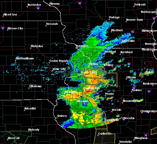 Radar Image for Severe Thunderstorms near Princeville, IL at 7/13/2016 4:22 PM CDT