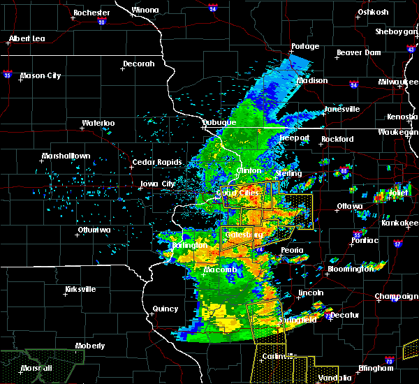 Radar Image for Severe Thunderstorms near Geneseo, IL at 7/13/2016 4:25 PM CDT