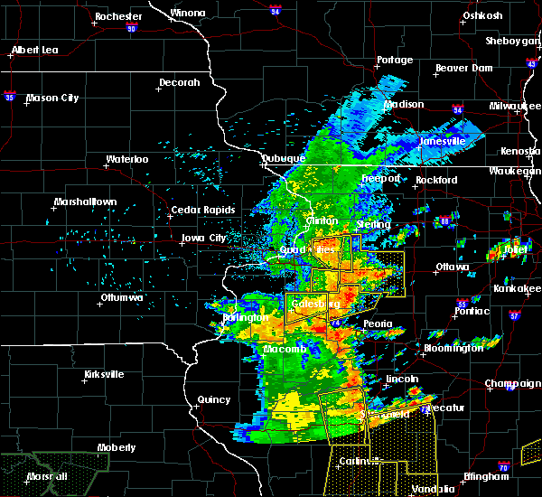 Radar Image for Severe Thunderstorms near Princeville, IL at 7/13/2016 4:35 PM CDT