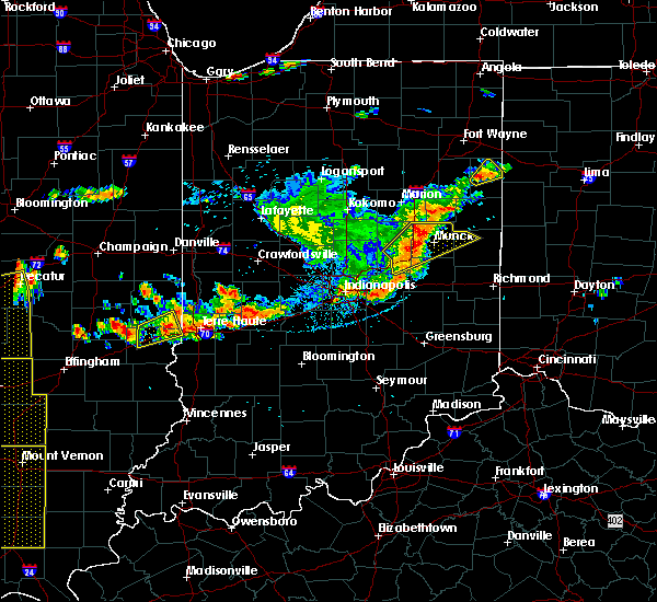 Radar Image for Severe Thunderstorms near New Castle, IN at 7/13/2016 5:38 PM EDT