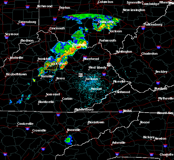 Radar Image for Severe Thunderstorms near Carlisle, KY at 7/14/2016 12:18 AM EDT