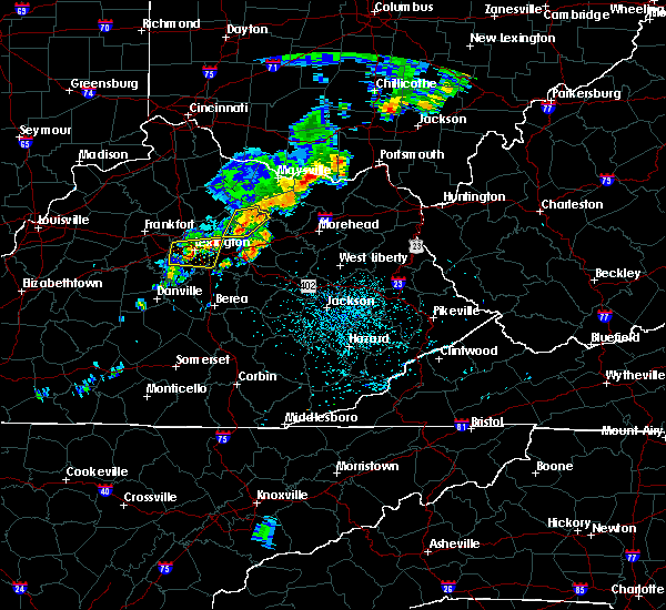 Radar Image for Severe Thunderstorms near Carlisle, KY at 7/14/2016 12:26 AM EDT