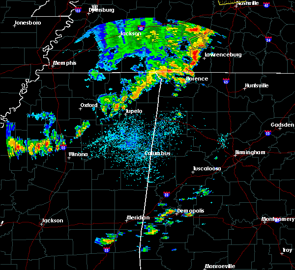Radar Image for Severe Thunderstorms near Booneville, MS at 7/14/2016 12:17 PM CDT