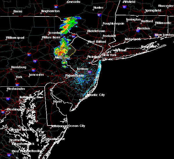Radar Image for Severe Thunderstorms near Mountain Lake, NJ at 7/14/2016 2:34 PM EDT