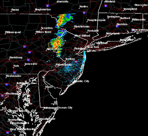 Radar Image for Severe Thunderstorms near Mountain Lake, NJ at 7/14/2016 2:49 PM EDT