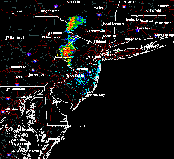 Radar Image for Severe Thunderstorms near Mountain Lake, NJ at 7/14/2016 2:52 PM EDT