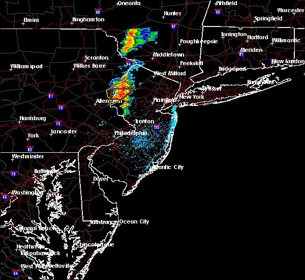 Radar Image for Severe Thunderstorms near Mountain Lake, NJ at 7/14/2016 3:01 PM EDT