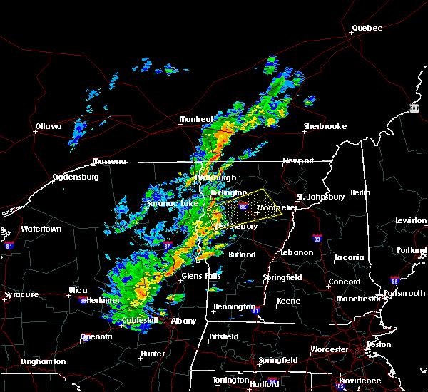 Radar Image for Severe Thunderstorms near Hinesburg, VT at 7/14/2016 3:20 PM EDT