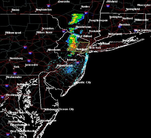 Radar Image for Severe Thunderstorms near Dover, NJ at 7/14/2016 3:41 PM EDT