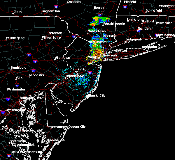 Radar Image for Severe Thunderstorms near Paterson, NJ at 7/14/2016 4:11 PM EDT