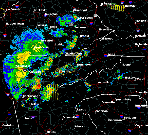 Radar Image for Severe Thunderstorms near Rose Hill, VA at 7/14/2016 5:08 PM EDT