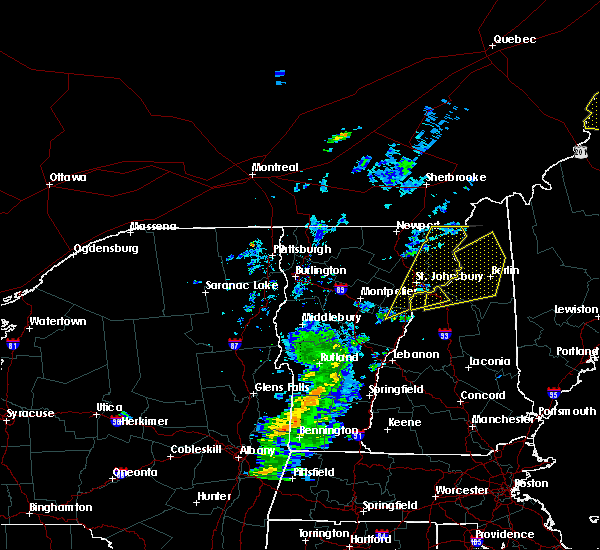 Radar Image for Severe Thunderstorms near Berlin, NH at 7/14/2016 5:11 PM EDT