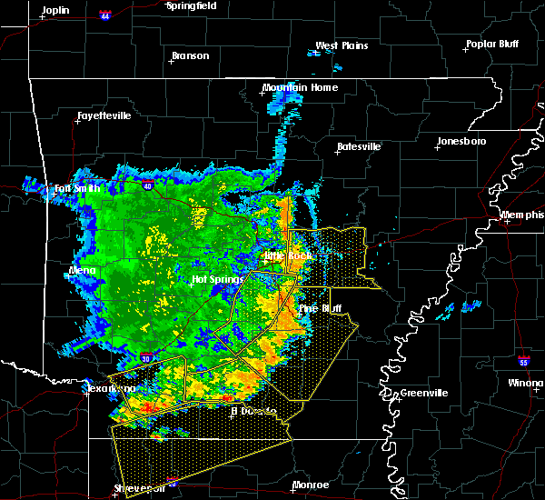 Radar Image for Severe Thunderstorms near Coy, AR at 7/14/2016 6:50 PM CDT