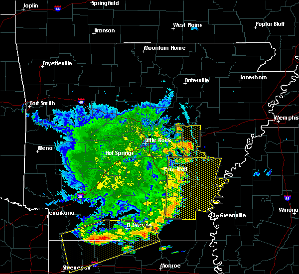 Radar Image for Severe Thunderstorms near Stuttgart, AR at 7/14/2016 7:28 PM CDT