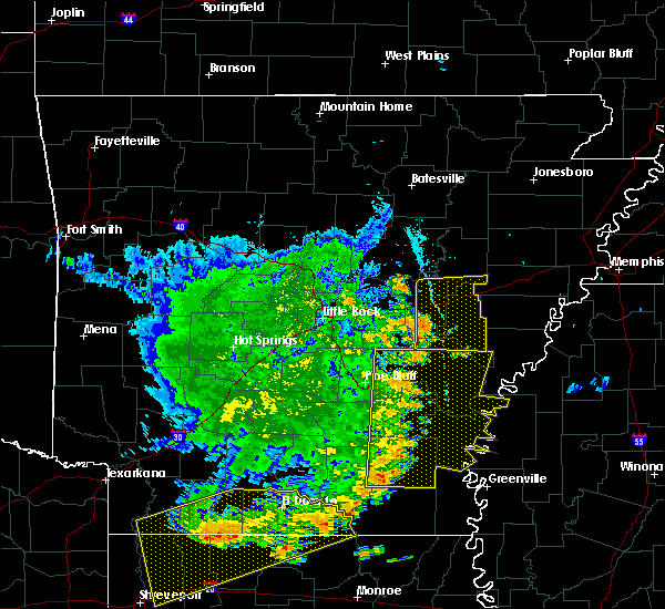 Radar Image for Severe Thunderstorms near Wheatley, AR at 7/14/2016 7:33 PM CDT