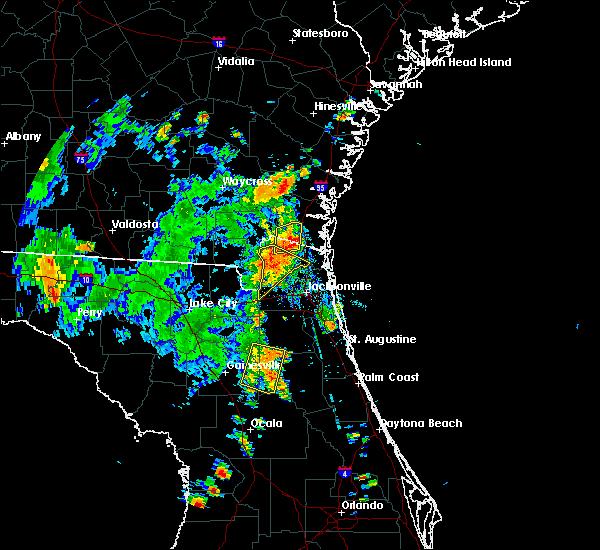 Radar Image for Severe Thunderstorms near Interlachen, FL at 7/15/2016 5:16 PM EDT