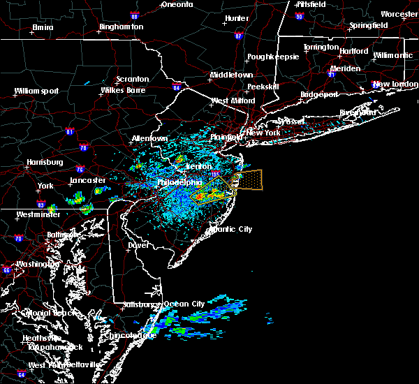 Radar Image for Severe Thunderstorms near Browns Mills, NJ at 7/16/2016 2:14 PM EDT