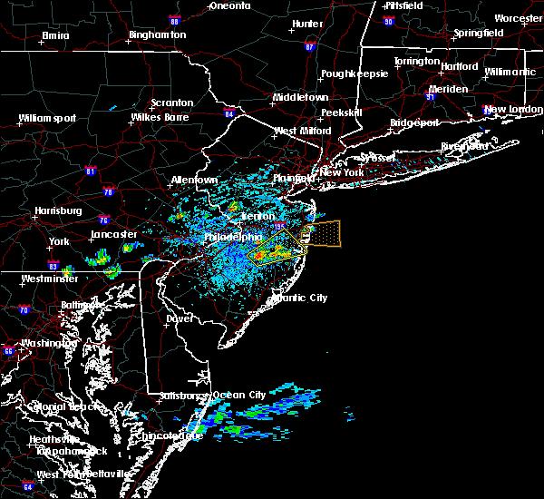 Radar Image for Severe Thunderstorms near Silver Ridge, NJ at 7/16/2016 2:14 PM EDT