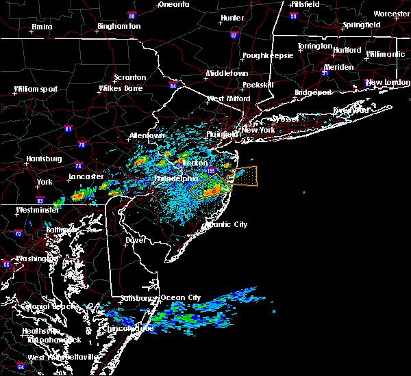 Radar Image for Severe Thunderstorms near Silver Ridge, NJ at 7/16/2016 2:35 PM EDT