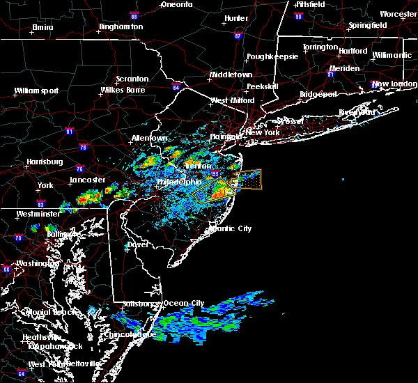 Radar Image for Severe Thunderstorms near Silver Ridge, NJ at 7/16/2016 2:47 PM EDT
