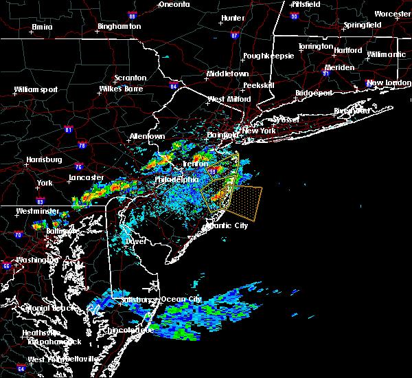Radar Image for Severe Thunderstorms near Silver Ridge, NJ at 7/16/2016 3:09 PM EDT
