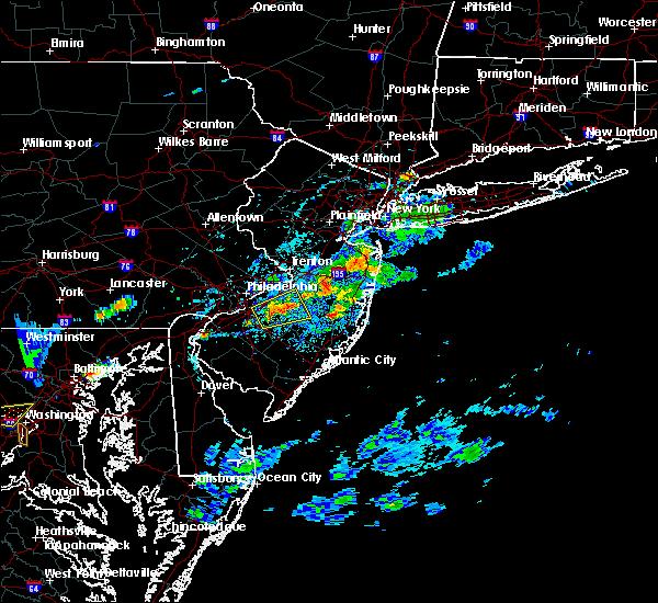 Radar Image for Severe Thunderstorms near Silver Ridge, NJ at 7/16/2016 5:00 PM EDT