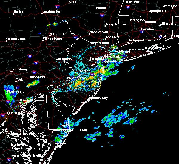 Radar Image for Severe Thunderstorms near Silver Ridge, NJ at 7/16/2016 5:16 PM EDT