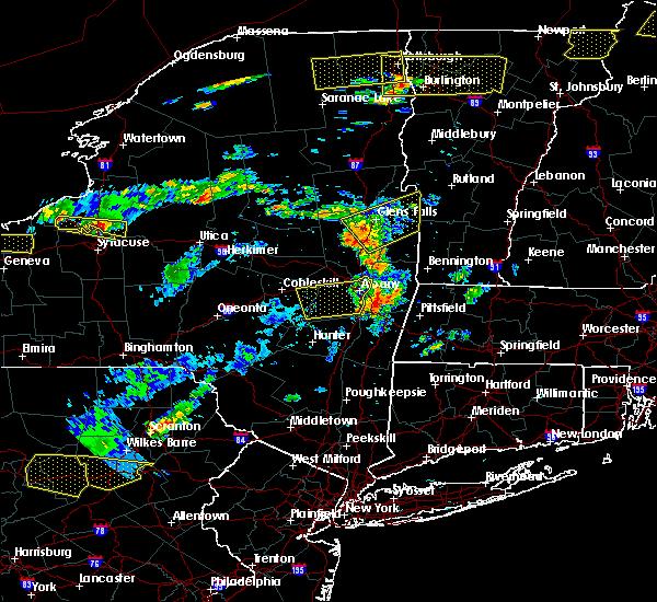 Radar Image for Severe Thunderstorms near Salem, NY at 7/18/2016 1:07 PM EDT