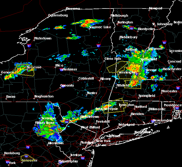 Radar Image for Severe Thunderstorms near Canaan, CT at 7/18/2016 2:19 PM EDT