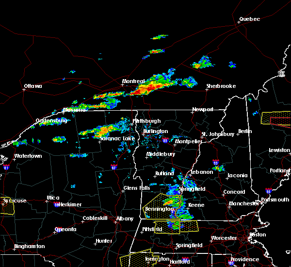 Radar Image for Severe Thunderstorms near Au Sable Forks, NY at 7/18/2016 2:29 PM EDT