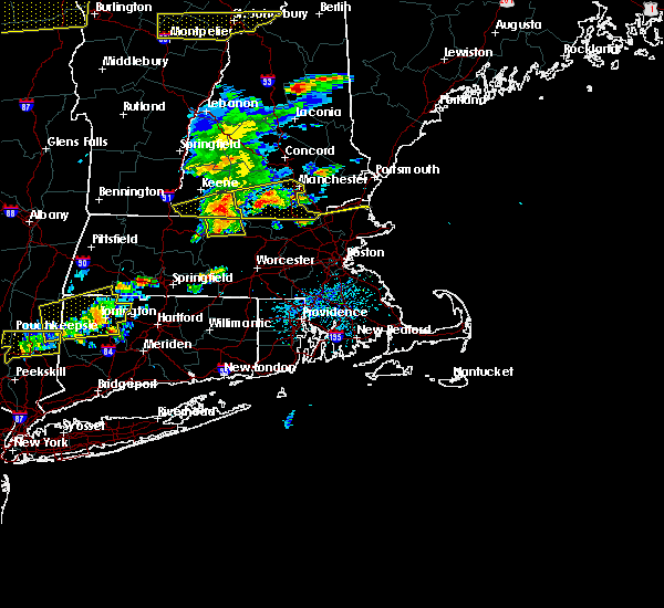 Radar Image for Severe Thunderstorms near Methuen Town, MA at 7/18/2016 2:53 PM EDT