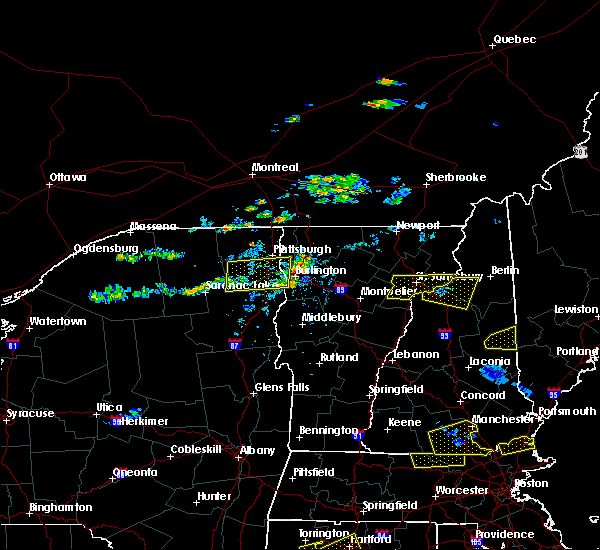 Radar Image for Severe Thunderstorms near Au Sable Forks, NY at 7/18/2016 3:27 PM EDT