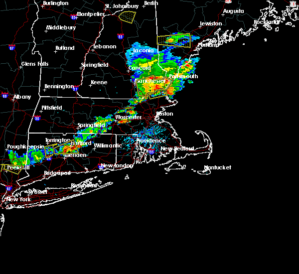 Radar Image for Severe Thunderstorms near Methuen Town, MA at 7/18/2016 3:45 PM EDT