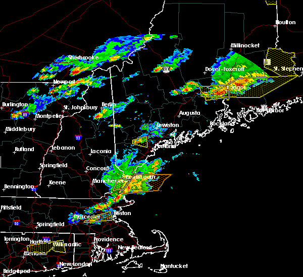 Radar Image for Severe Thunderstorms near Little Falls, ME at 7/18/2016 4:05 PM EDT