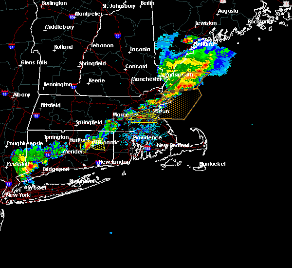 Radar Image for Severe Thunderstorms near Medfield, MA at 7/18/2016 4:29 PM EDT