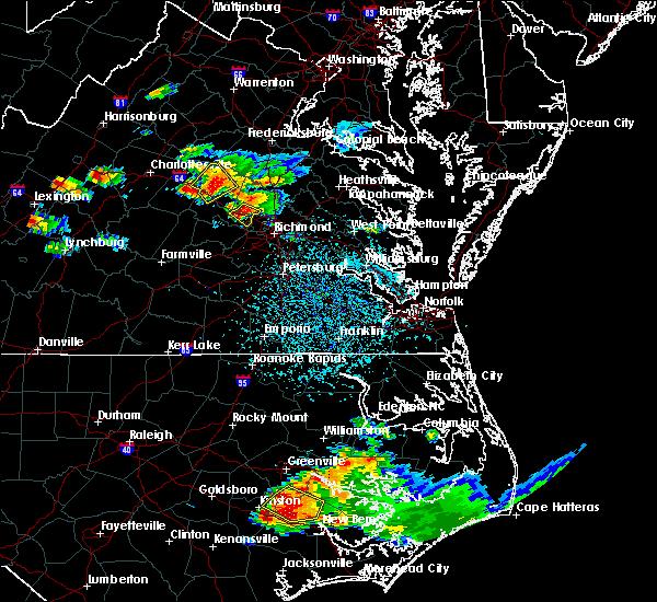 Radar Image for Severe Thunderstorms near Short Pump, VA at 7/19/2016 4:03 PM EDT