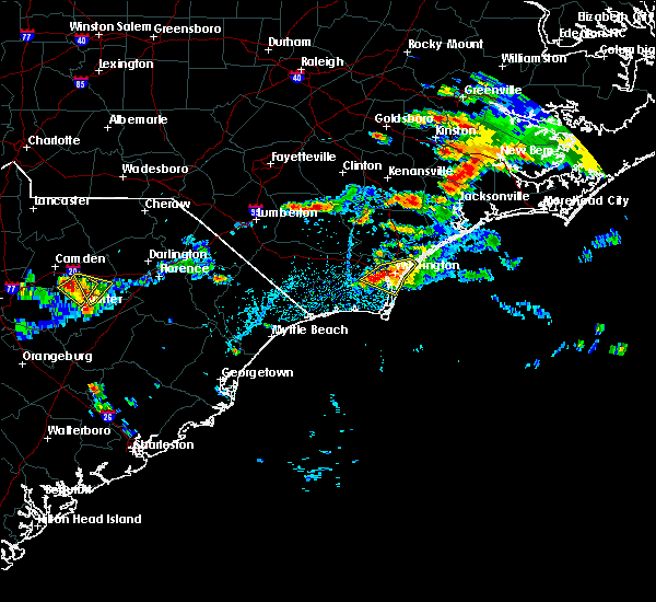 Radar Image for Severe Thunderstorms near Wrightsboro, NC at 7/19/2016 4:45 PM EDT