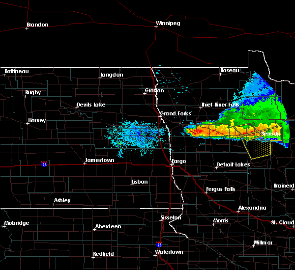Radar Image for Severe Thunderstorms near Wilton, MN at 7/19/2016 10:04 PM CDT