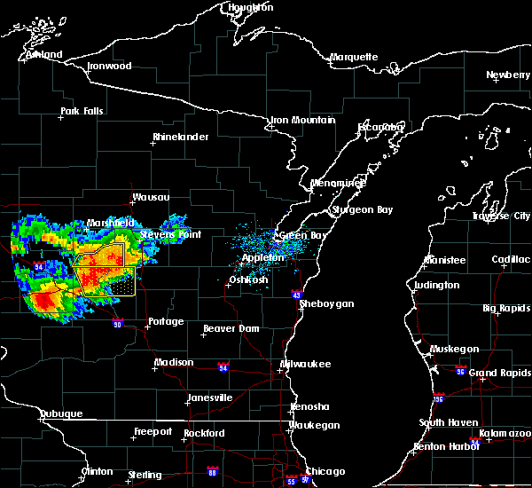 Radar Image for Severe Thunderstorms near Hancock, WI at 7/21/2016 4:04 PM CDT