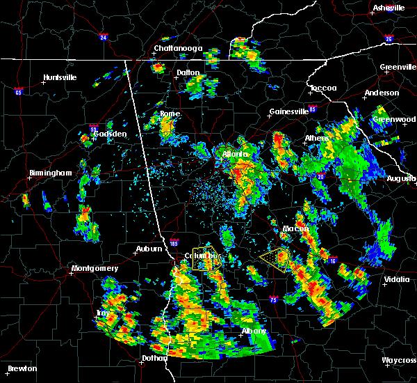 Radar Image for Severe Thunderstorms near Junction City, GA at 7/21/2016 5:48 PM EDT